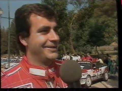 Carlos Sainz Un Campeón Prudente Rallyes 1990
