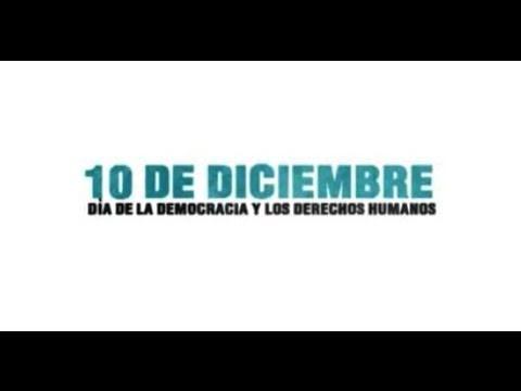 10 de Diciembre Da de la Democracia Institucional  YouTube