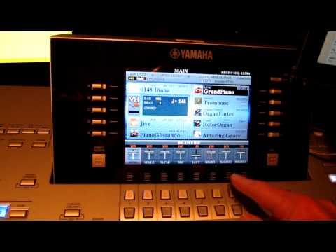 Displaying sheet music on iPad connected to Yamaha keyboard