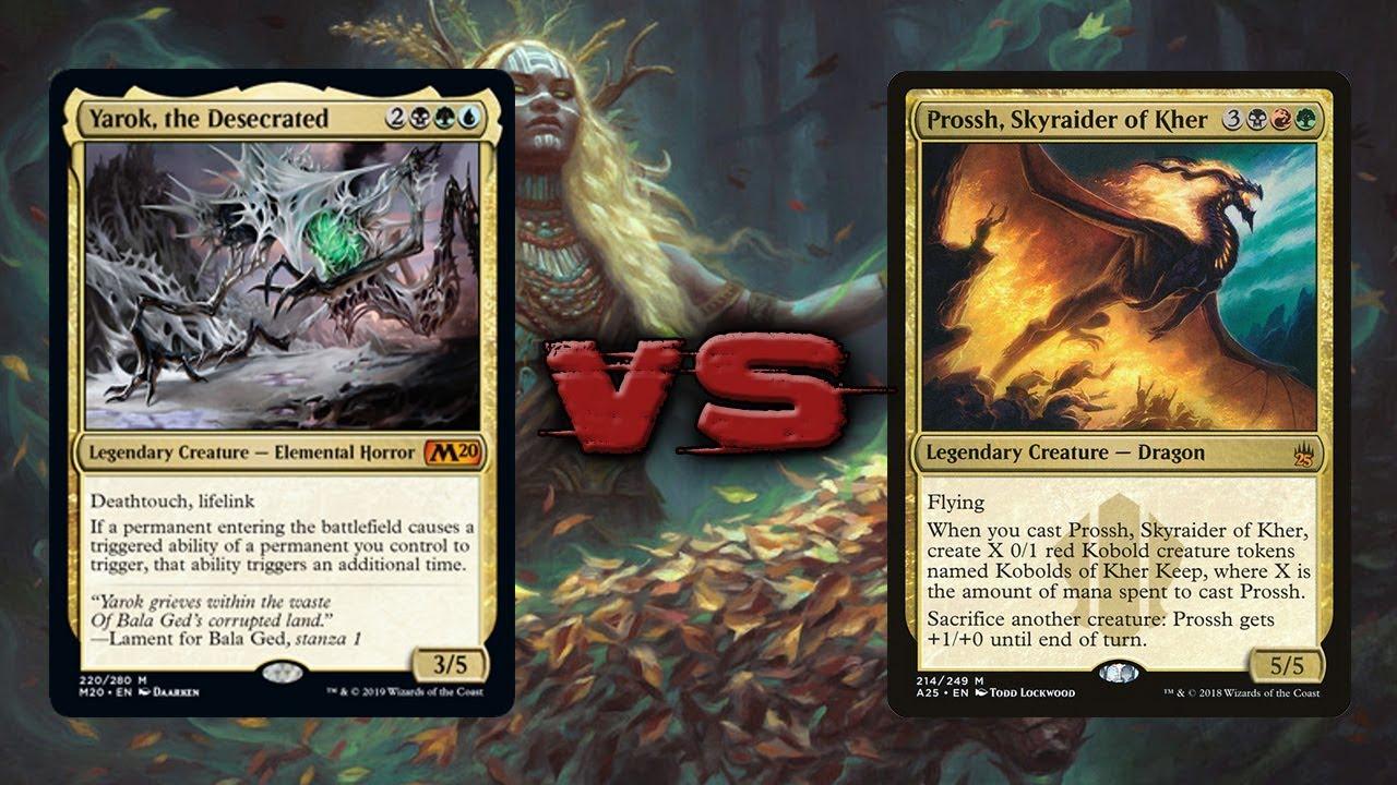 Yarok, the Desecrated vs Prossh - Commander/EDH - tribalkai/eedi-H - 1v1 by  The eedi-H Channel