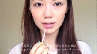 倪晨曦makeup tutorial - 宋慧喬水潤妝super moisturized makeup like song hye-kyo