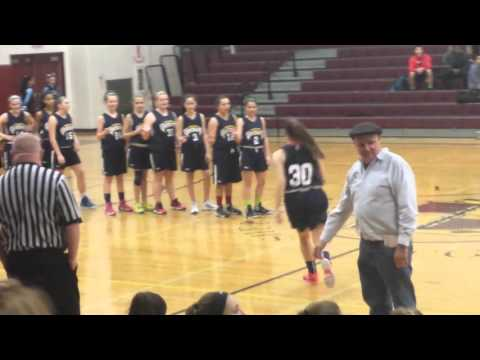 Dudley middle school titans girls basketball  2 /12  intro