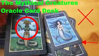 ✅  How To Use The Mythical Creatures Oracle Card Deck Review