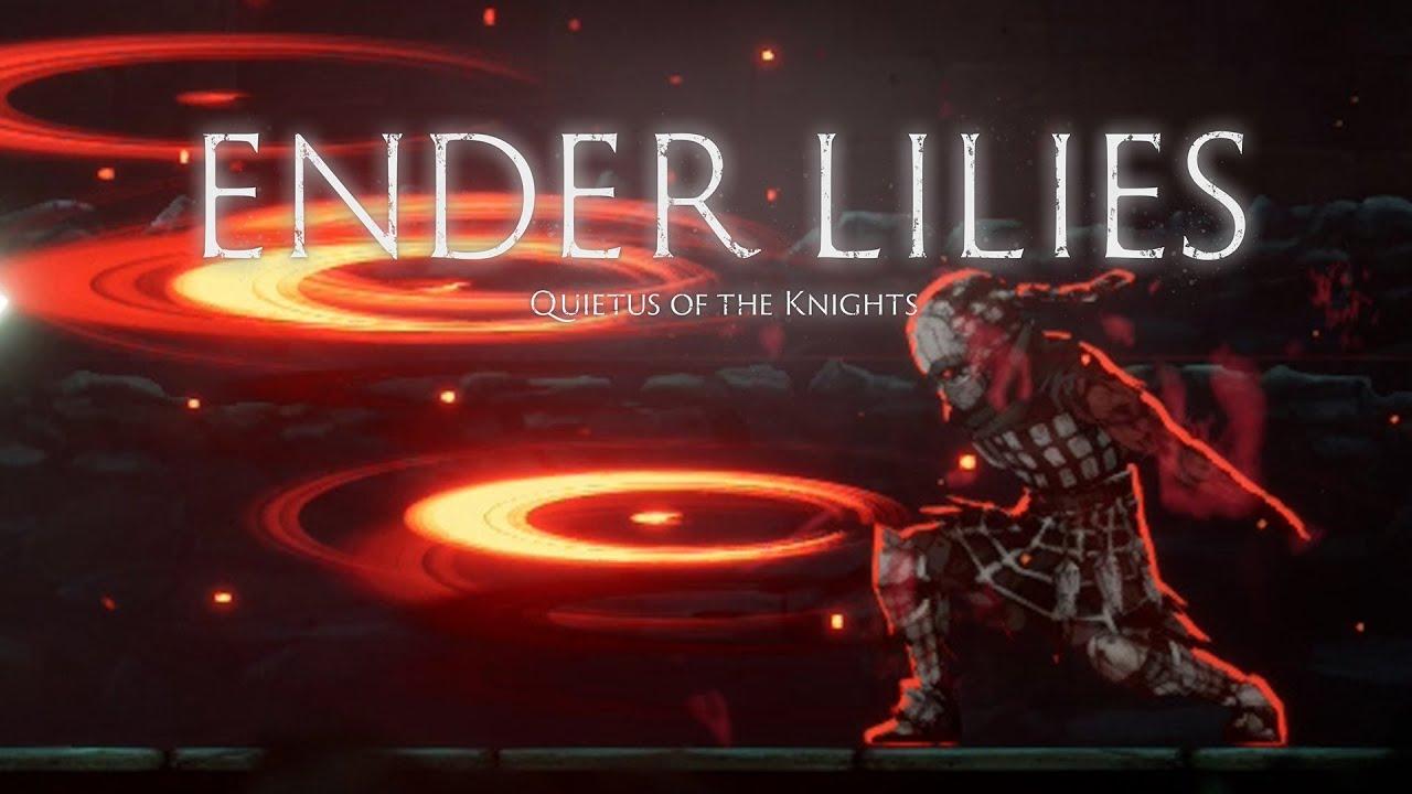 高難易度ダークファンタジー2DアクションRPGで『深淵の番人へニール』を狩る深淵の玄人【ENDER LILIES】#6