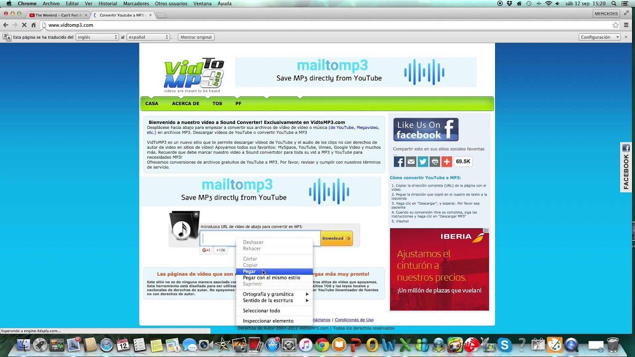 descargar musica youtube para mac