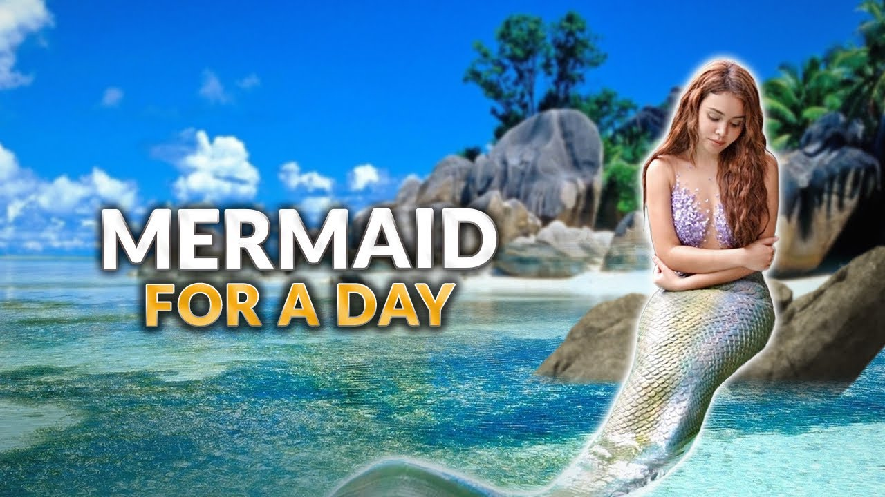 MERMAID FOR A DAY CHALLENGE! | IVANA ALAWI