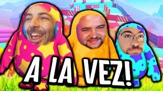 JUEGO CON CACU Y NEFA A LA VEZ!!! XDDDDD 😂🤣 - FALL GUYS - Nexxuz
