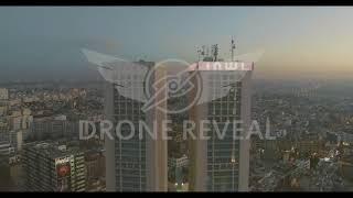 Vidéo Aérienne réalisé par Drone Reveal   Twins Centers   Casablanca