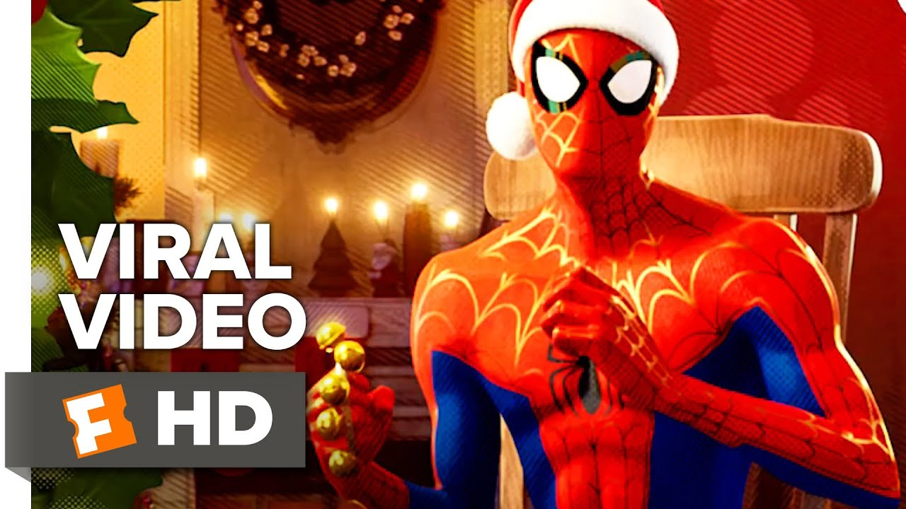 Spiderman Christmas.Spider Man Into The Spider Verse Spidey Bells A Very Spidey Christmas Movieclips Coming Soon