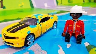 Мультики про машинки. Приключение желтой машинки в мультике – Желейная Броня. Мультфильмы для детей.mp3