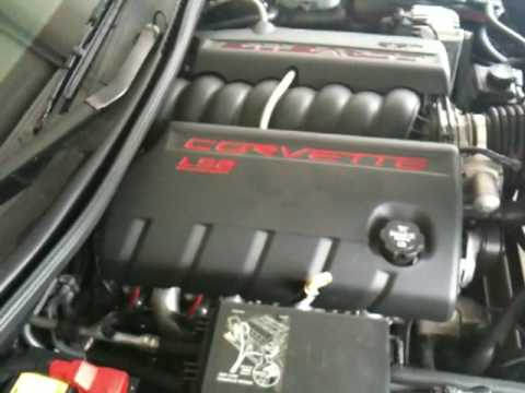 Corvette blown header gasket
