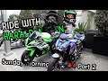 Ride with Harald | ZX10R Anniv & Layz's Z800 'Captain America' (2/2)