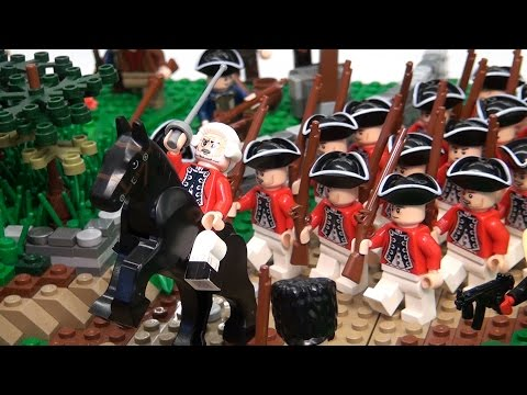 LEGO Battle of Lexington and Concord Revolutionary War – BrickFair New England 2015