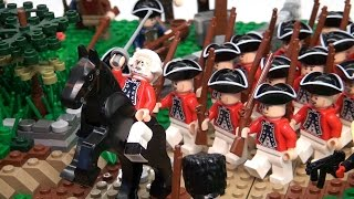 LEGO Battle of Lexington and Concord Revolutionary War – BrickFair New England 2015