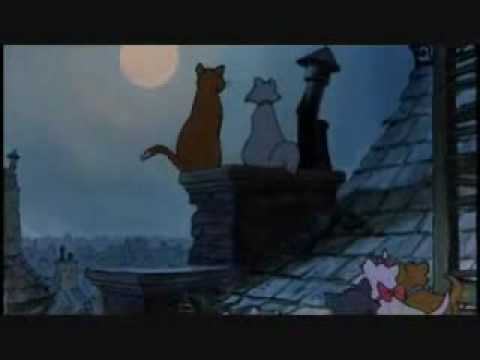 On The Roof The Aristocats Dutchess Fandub Youtube