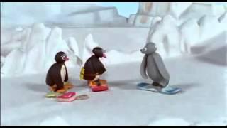 Pingu - Snowboarden