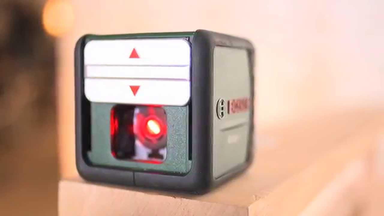 tutorial: laserlinienkreuz an die wand projizieren –mit dem