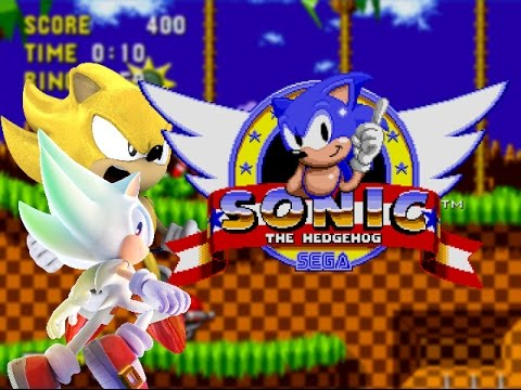 super sonic and hyper sonic in sonic 1 # 1