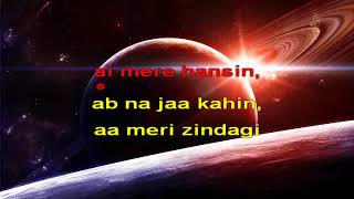 Bin Tere Sanam Bollywood Remix Hindi Karaoke from Hyderabad Karaoke Club