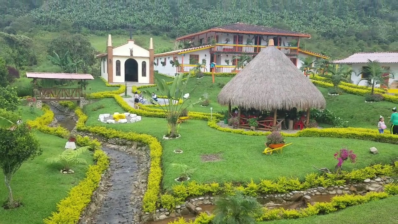 Jardin antioquia youtube for Antioquia jardin