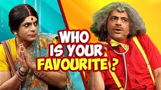 vuclip Dr. Mashoor Gulati or Rinku Devi, Who is your favorite character?