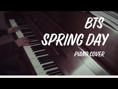 BTS - Spring Day {piano cover}
