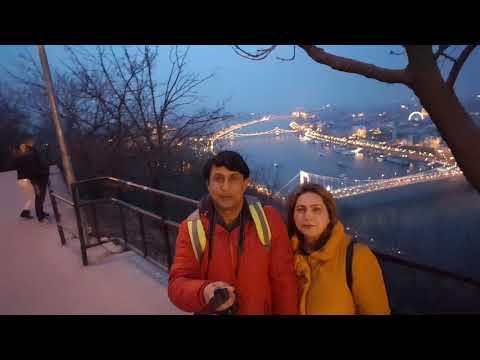 Gellert Hill Highest Viewpoint in Budapest