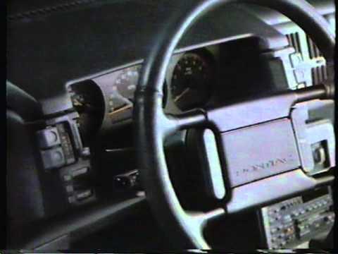 1986 Pontiac Grand Am commercial.