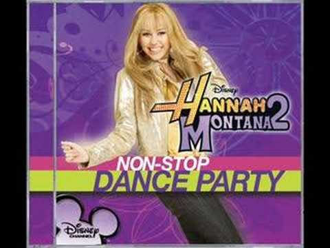hannah montana 2 non stop dance party nobody s perfect
