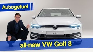 This is the all-new VW Golf 8 !  Autogefuel