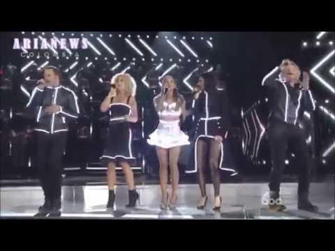 Little Big Town & Ariana Grande Bang Bang CMA's 2014