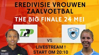 Playoff finale vrouwen zaalvoetbal: TPP Rotterdam - Drs. Vijfje