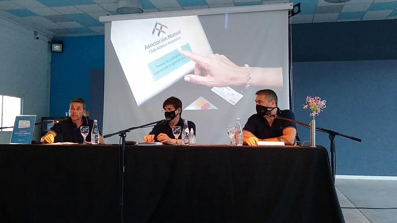 Bonino: La Asociación Mutual del Club Argentino lanzó la Tarjeta de Débito y Mutual Online 24