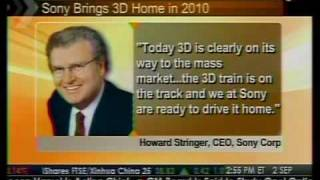 Sony Brings 3D Home in 2010 - Bloomberg