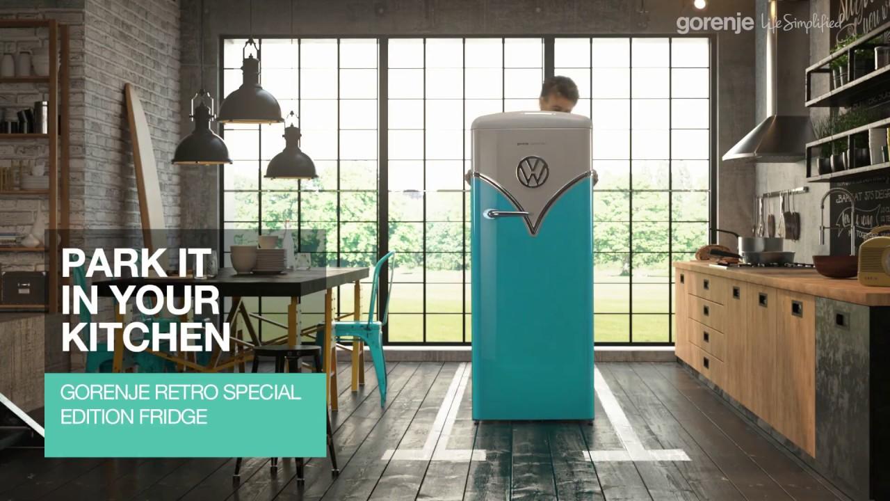 Retro Kühlschrank Occasion : Zeit den neuen retro kühlschrak zu entdecken youtube
