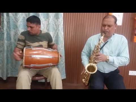 Tere Sang Pyar Mein saxophone
