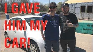 I Gave My Car to a Homeless Veteran