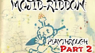 Mojib-Ribbon - Playthrough Part 2 (PS2)(Import)