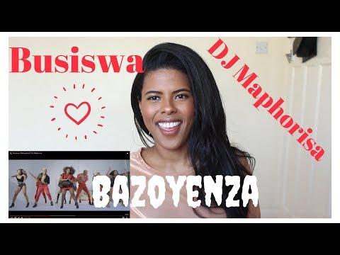 🇿🇦 Busiswa - Bazoyenza ft. DJ Maphorisa | REACTION