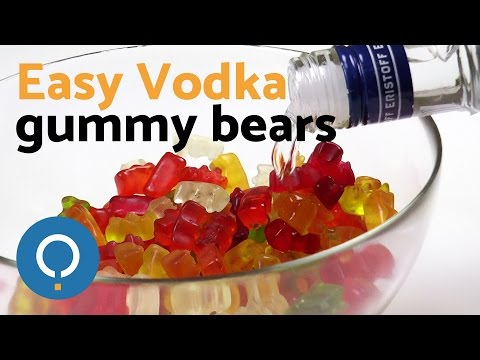 How to make alcoholic gummy bears at home
