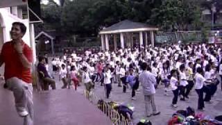 Grade V Warm Up Exercise At P.burgos Elementary School Sta Mesa Manila