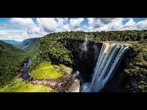 Harbor House Life: Rappelling the Largest Waterfall in the World!!! Guyana - Lost world
