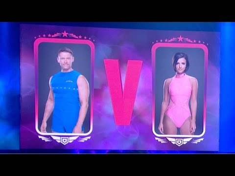 John Partridge & Lucy Mecklenburgh compete in the Vault Off - Tumble: Episode 4 - BBC One