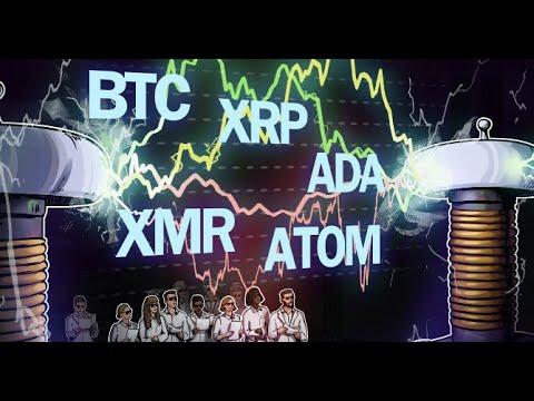 🚀 Top 5 cryptocurrencies to watch this week  BTC, XRP, ADA, XMR, ATOM 🚀