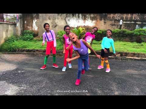 Mayorkun Ft. Kizz Daniel - True (Official Dance Video) Dream Catchers Dance (The Happy African Kids)