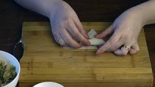 How to Fold Samosa | How to fold Patti Samosa