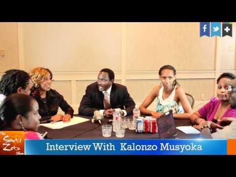 Sauti Zetu Show Interview with Kalonzo Musyoka In Dallas Part 1