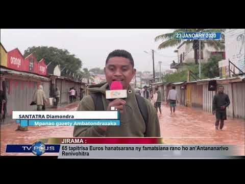 VAOVAO DU 23 JANVIER 2020 BY TV PLUS MADAGASCAR