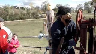 Badlands Sno-park Pumpkin Catapult, Hudson, Wi