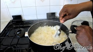 How to cook the best basmati rice at home for dinner -Chef Ricardo Cooking